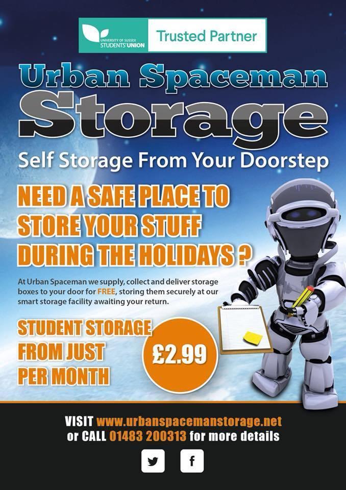 Summer Storage from Urban Spaceman
